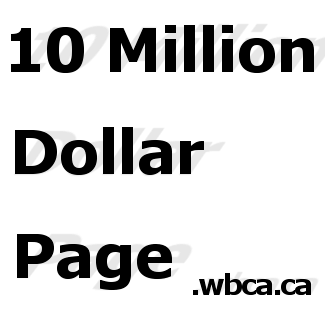10 Million Dollar Page Logo